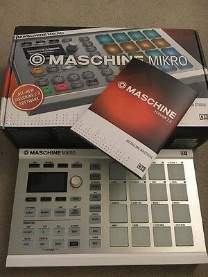 Native Instruments Maschine Mikro MK2 White Production Controller + Software