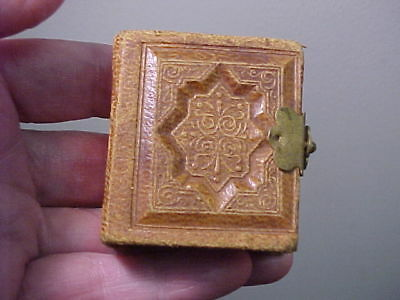 Mini Antique Gem Album with 22 Gem Tintypes