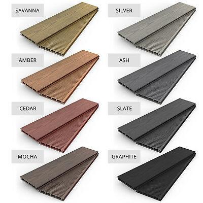 Composite WPC Plastic Decking - Boards, Edging, Trims, Fixings, Clips, Joists