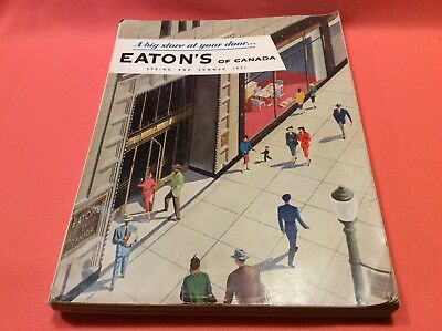 Eatons of Canada 1951 Spring and Summer Catalogue