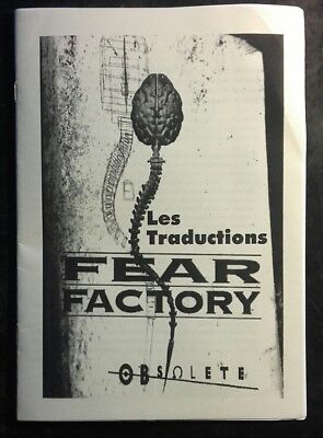 Fear Factory - Obsolete - Les Traductions
