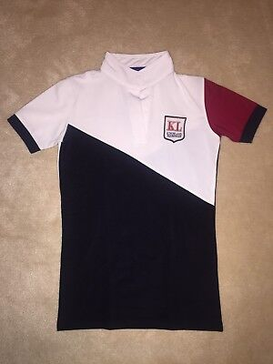 Kingsland Riding Stock Competition Show Shirt - XXS 6 Immaculate