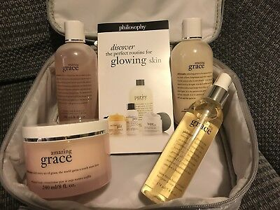 Lovely Brand New Philosophy Beauty Kit With Case