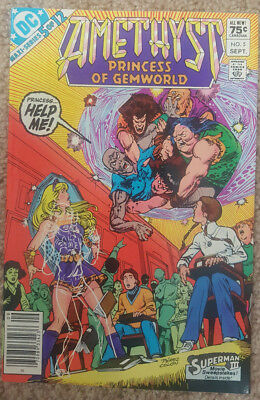 Amethyst Princess of Gemworld (1983 DC) #5 VF