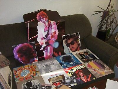 BOB DYLAN 10 LP & EP LOT w HIGHWAY 61 REVISITED, JOHN WESLEY HARDING & more