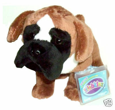 Webkinz BOXER HM665 NEW With  Sealed Code