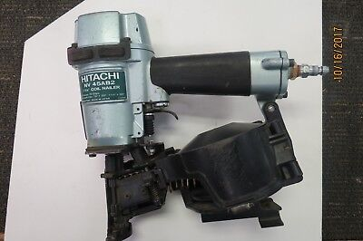 """Hitachi Nv45Ab2 7/8"""" To 1-3/4"""" Coil Roofing Nailer"""