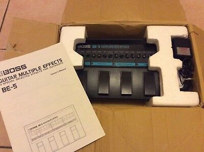 Boss BE-5 multi effects boxed with manual and power supply