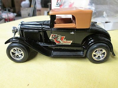 Die Cast Edelbrock 1931 Ford Roadster 1/25, Coin Bank, Mib!