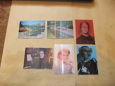 The Munsters Dart Deluxe Collectors Set Of 6 Lenticular Chase Cards Fred Gwynne