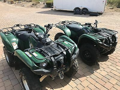 2011 yamaha grizzly 450 & 700 (2 quads)