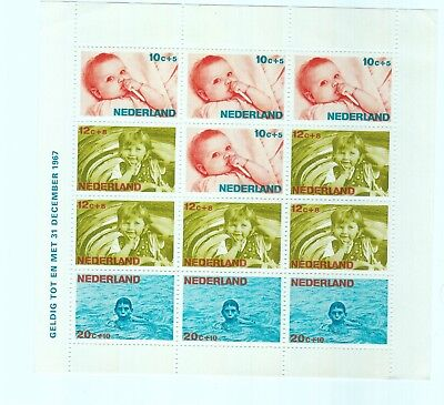 Netherlands Stamps Sheets Unmounted Mint