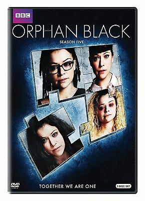 Orphan Black: The Complete Fifth Season 5 (DVD, 2017, 3-Disc)