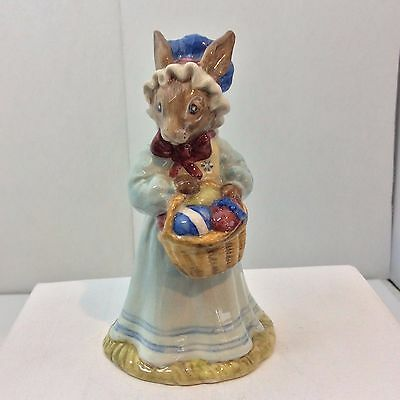 Royal Doulton Mrs. Bunny At The Easter Parade Porcelain Figurine #7528