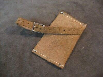 Vintage Norlund hudson bay axe hatchet leather sheath blade cover