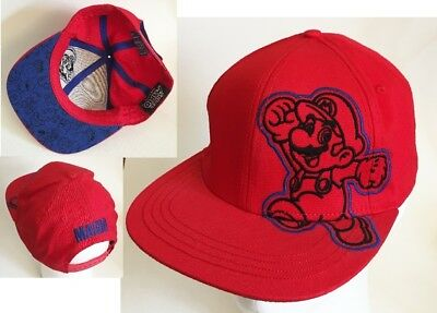 NWOT Nintendo's Mario Red Baseball Cap Hat Advertising Promotional Souvenir2011