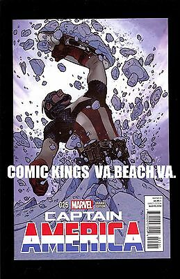 Captain America #25 Adam Hughes 1:50 Variant Nm/m Unread Copy Comic Kings