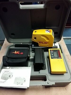 Pacific Laser Systems PLS 5 Laser Tool #60541 Excellent Condition Free Ship