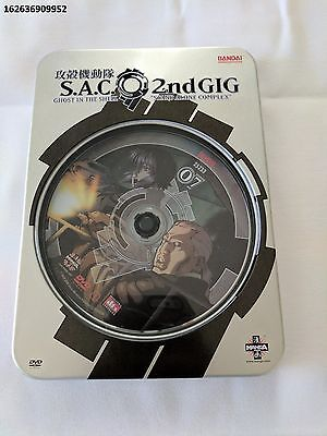 Ghost in the Shell, Stand-Alone Complex, 2nd Gig Volume #7, Metal Box SteelBook
