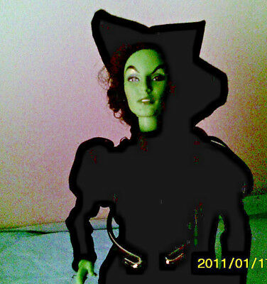"""Mattel 2003 Barbie  Wizard of Oz  """" Wicked Witch of the West """"  doll"""