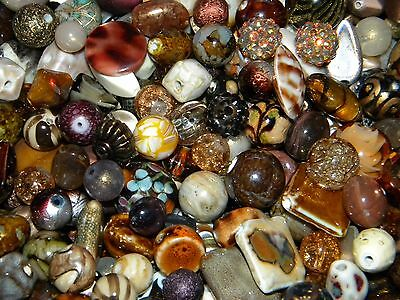 NEW 100/pcs BROWN'S mixed SPACER Jesse James Beads LOT RANDOM PICK (p)