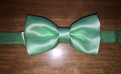 Pre-Owned (In Original Bag) Great Condition Boy's Mint Green Bow-tie