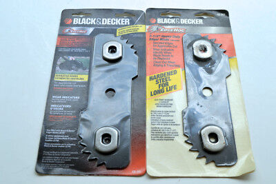 2 Black & Decker 7 1/2 inch heavy duty edger blade - Free Shipping!!!