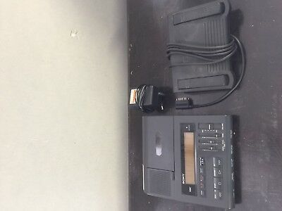 SONY BM-88 Cassette Dictation Transcriber Machine with Foot Pedal, Adapter ++