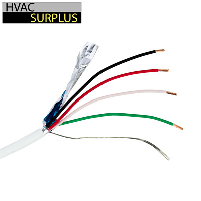 50 Feet 18/4 AWG Honeywell SHIELDED STRANDED WIRE / CABLE  CNC / STEPPER MOTORS