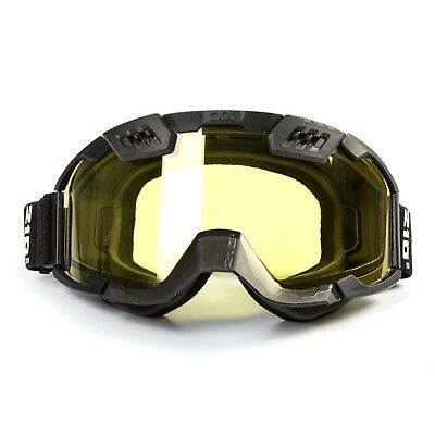 CKX - Titan 210 Tactical w/ Controlled Ventilation Yellow Lens Goggles
