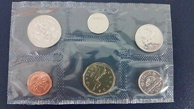 1991 Rare Date Canada Proof Like Set. Proof Like Condition