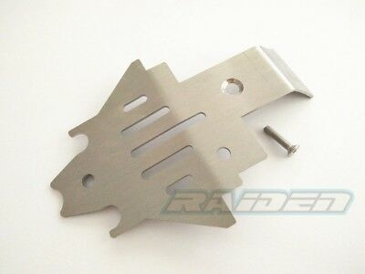 Traxxas TRX-4 Defender TRX4 Stainless Steel Skid Plate Center Chassis Protector