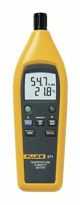 Fluke 971 Temperature Humidity Meter With 99 Record Storage Capacity (NEW)