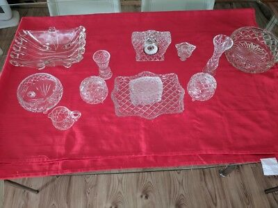 Crystal / Cut Glass dressing table set