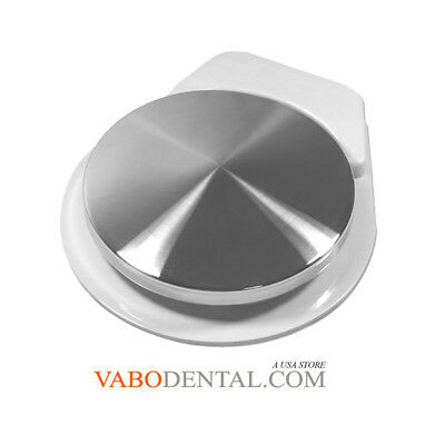 VABODENTAL Dental Foot Control Pedal, Shrouded,2 Holes, With 7ft Tubing