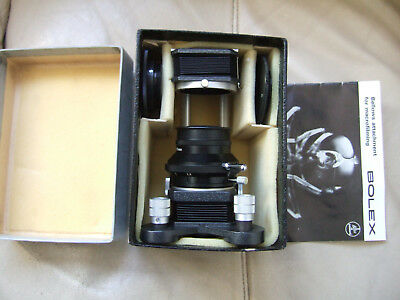 Very Rare Bolex Macro Bellows System Boxed Switzerland  Museum Quality