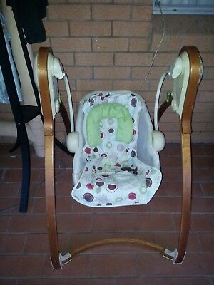 baby swing rocking bouncing chair