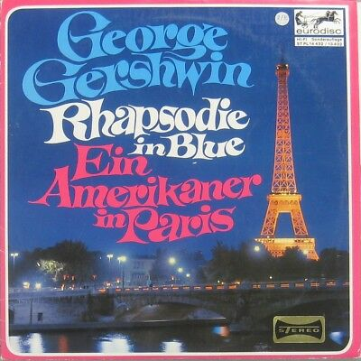 George Gershwin Rhapsody in blue ein Amerikaner in Paris 10 ""
