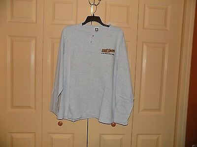 Bob Seger men's embroidered button top shirt. XL, mint cond. Mid 80's vintage.