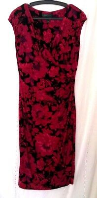 Dress Size 6 Used Excellent Apparel Off Shoulders Red And Black Knee Legth