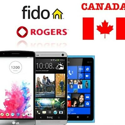 Rogers/Fido Samsung Unlock Code  - ALL SAMSUNG/LG/BlackBerry/HTC/Nokia etc