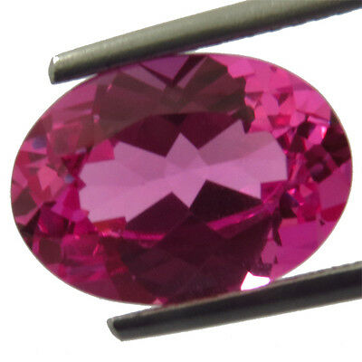 11.75ctBeautiful RARE Color! Pink Normal  Sapphire Oval 11X16MM