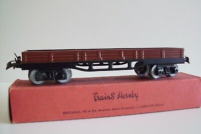 Wagons A Ridelles Basses Hornby