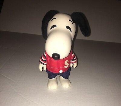 Vintage 1958-1966 United Feature Syndicate Snoopy Figurine With Vest/pants