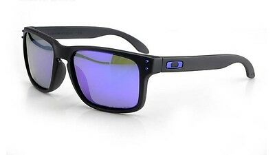 NEW Oakley Holbrook POLARIZED matte ice iridium lens 100% genuine or money back