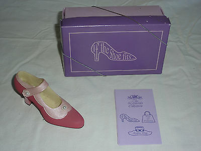 The Leonardo Collection - If the Shoe Fits - Pink Shoe