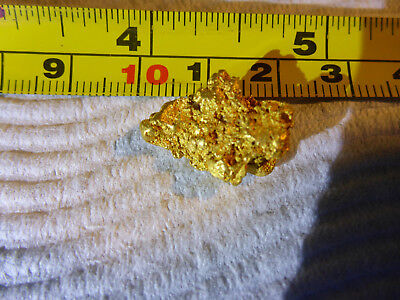 gold nugget 8.45 Gram Golden Triangle Victoria