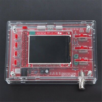 "Transparent Acrylic Case Box Shell Cover For 2.4"" DSO138 Digital Oscilloscope UK"