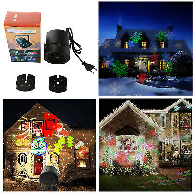 led laser projektor gartenlicht beleuchtung xmas au en weihnachten party deko eur 31 99. Black Bedroom Furniture Sets. Home Design Ideas