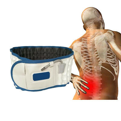 Air Traction Decompression Lumbar Support Therapy Belt Physio Back Brace Spinal